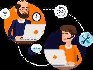 Aperfeiçoe a comunicação com clientes