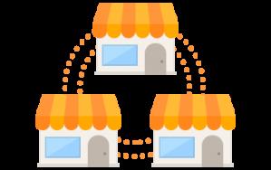 Controle mais de uma loja ou empresa