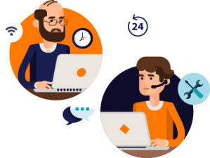 Cadastre clientes e serviços de modo simples