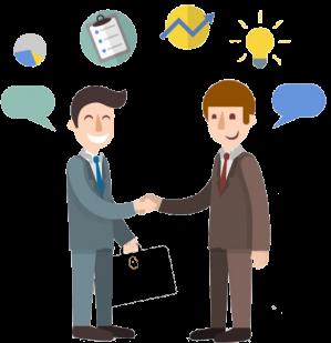 Clientes e fornecedores mais satisfeitos