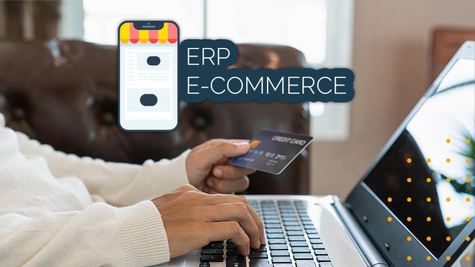 ERP Ecommerce; ERP E-commerce: o que é; Vantagens do Sistema para E-commerce; E-commerce Software; Software para E-commerce; Software de E-commerce.
