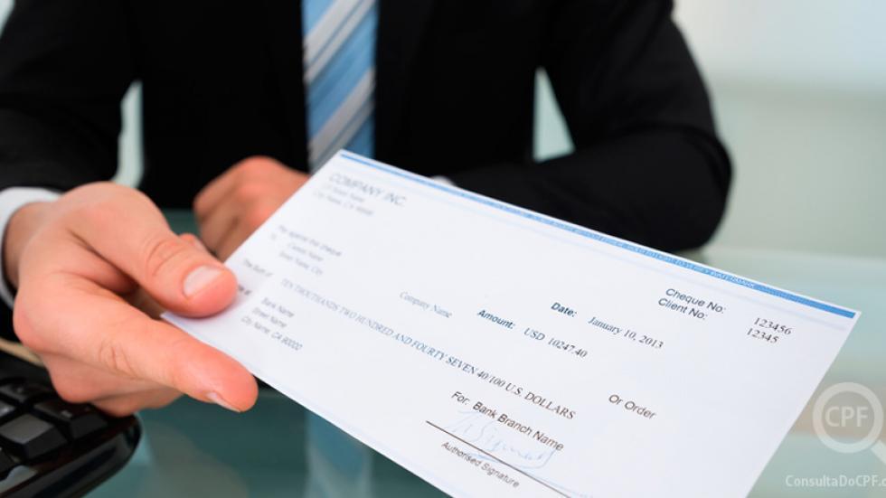relatório de vendas com cheque